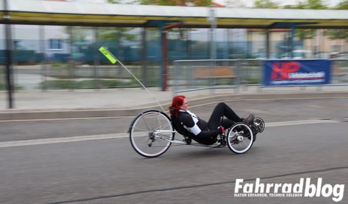 ICE VTX Trike bei der Probefahrt