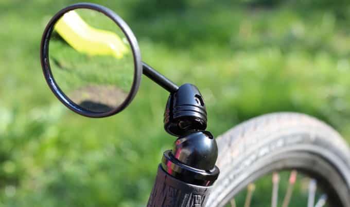Fahrradspiegel fürs Liegerad