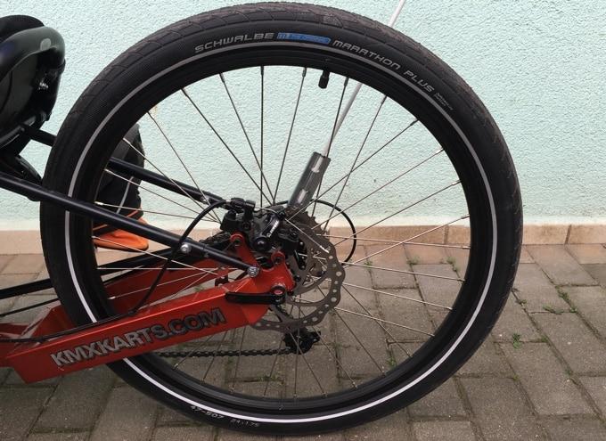 Schwalbe Marathon Plus Reifen in 24 Zoll für hinten