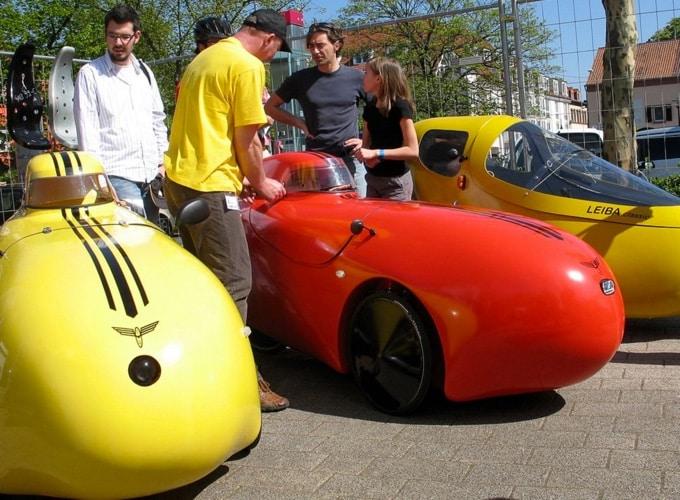 Velomobile auf der SPEZI - Bild: spezialradmesse.de