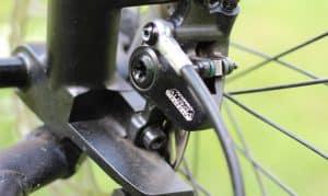 Bremsanlage vorne am Trike