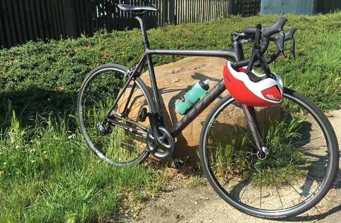 Unterwegs mit Rennrad und Uvex EdAero Helm