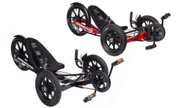KMX K3 in Schwarz und Rot