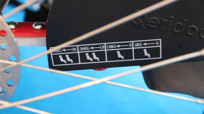 Qeridoo Fahrradanhänger mit Blattfedern