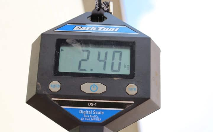 Kiddimoto Gewicht
