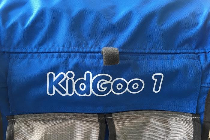 KidGoo Lüftung hinten am Anhänger
