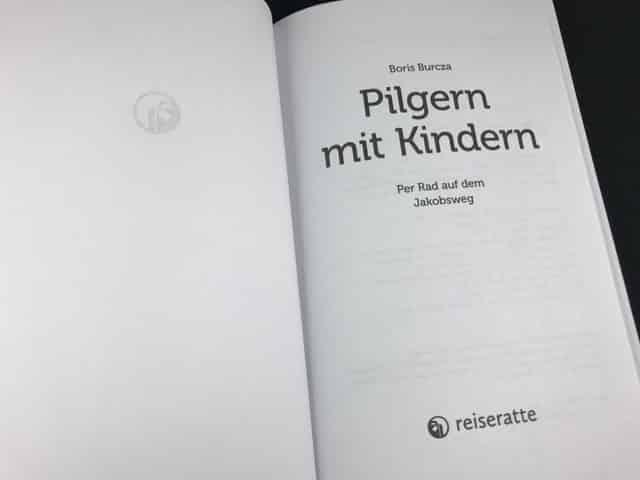 Pilgern mit Kindern offenes Buch