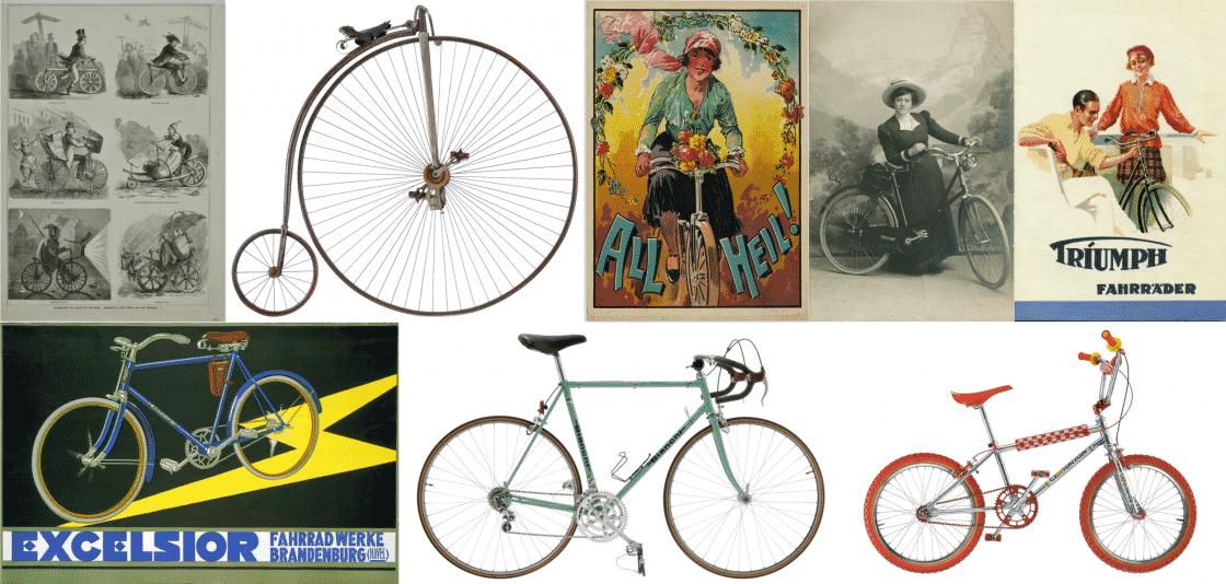 Fahrrad Collage 1869-1983