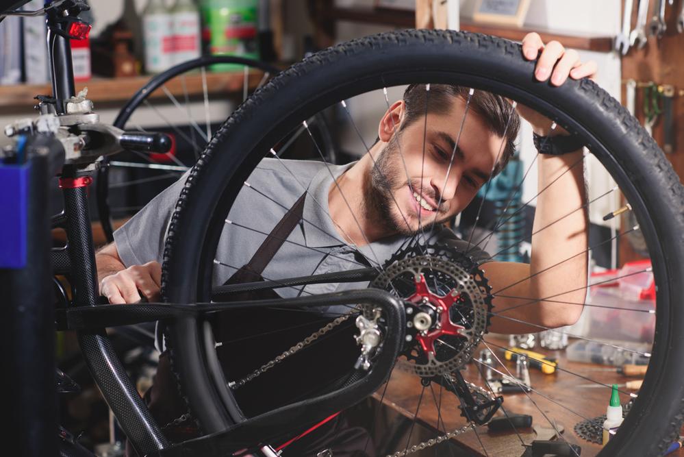 Fahrradladen mit Workshops und Kursen