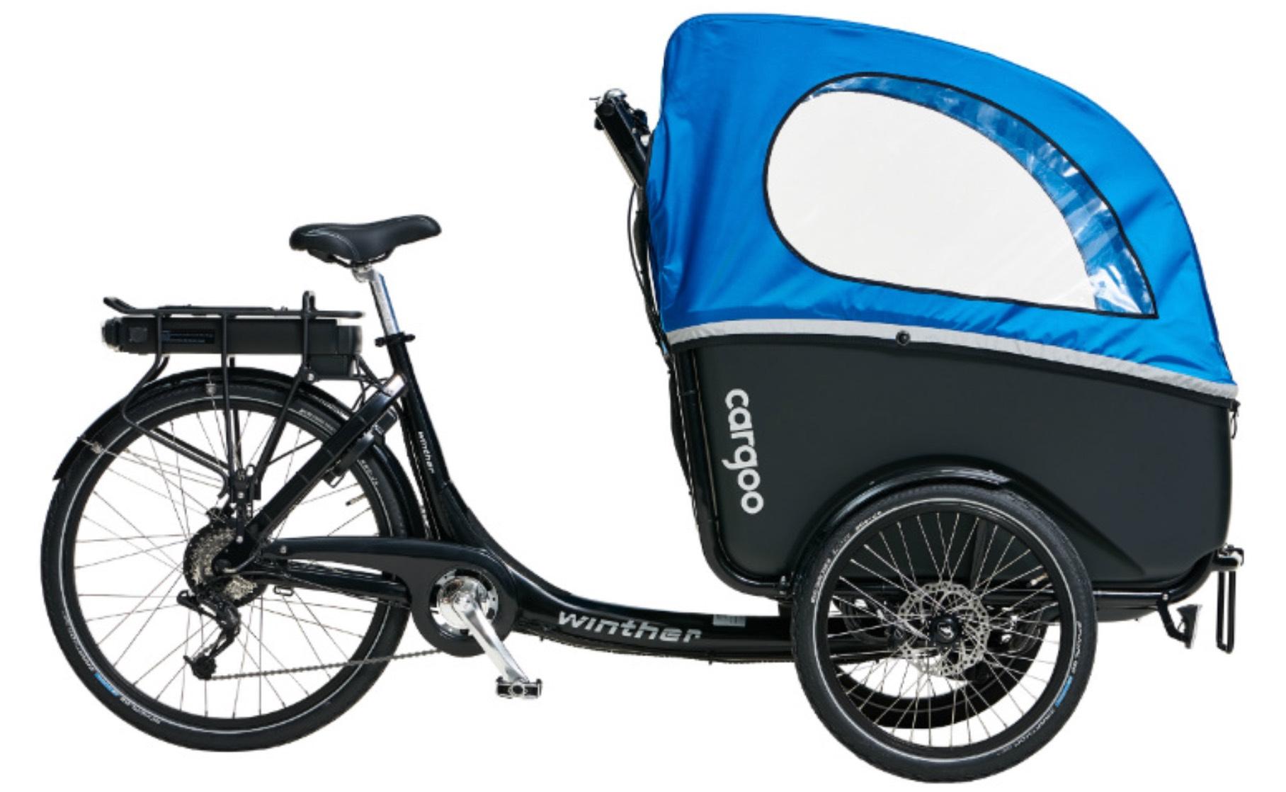 winther Cargoo E-Bikes