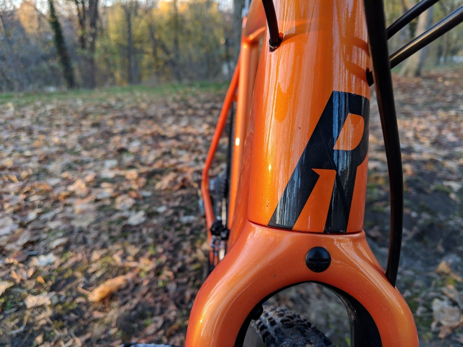 ROSE PRO CROSS Bike von vorne