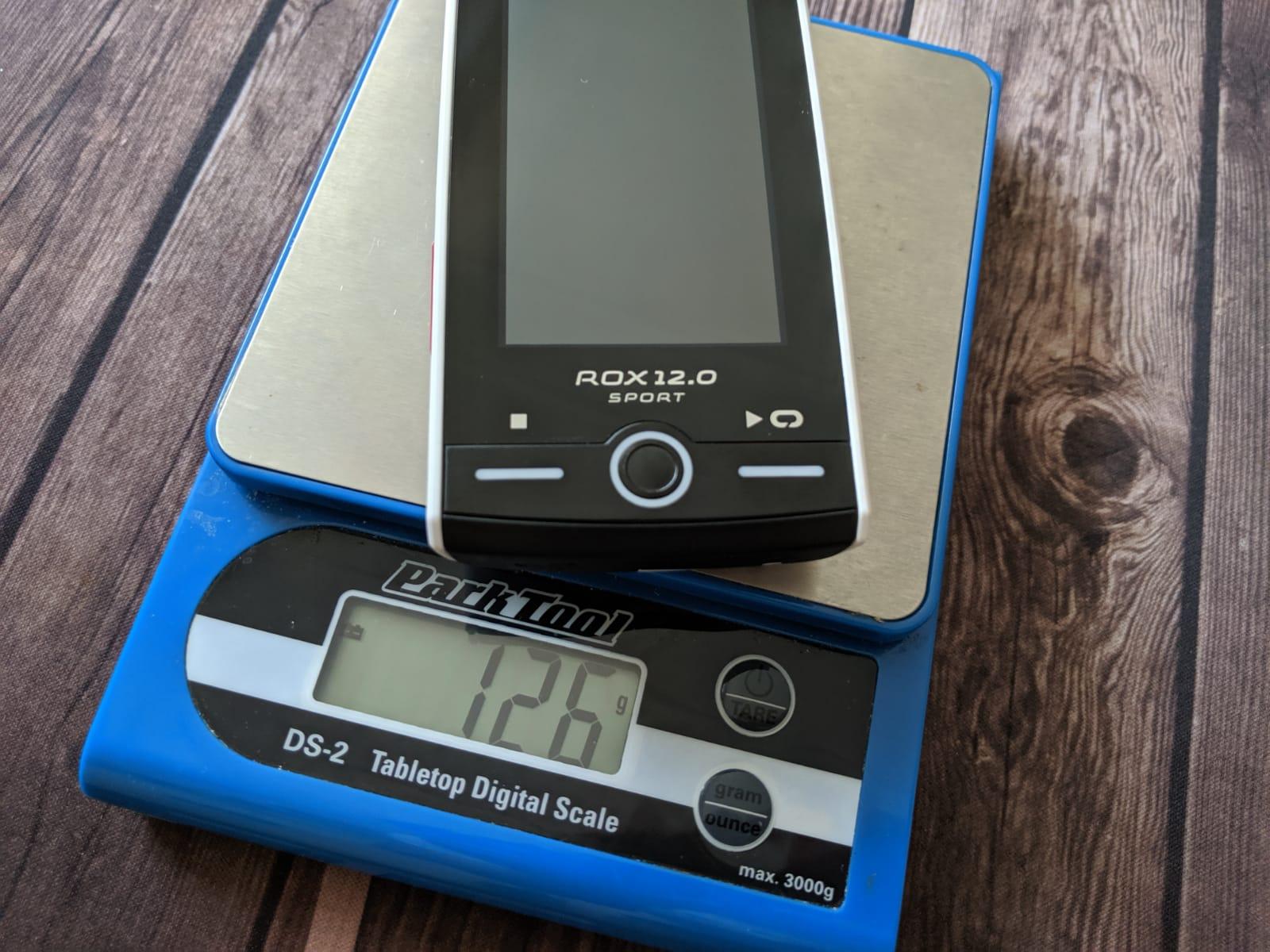 SIGMA ROX 12 Gewicht